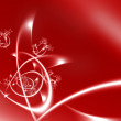 Stock Photo: Abstract red and white background