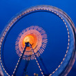 Ferris wheel at night during the oktoberfest in munich — Stock Photo #7657611