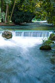 Beautiful waterfall in Munich — Stock Photo