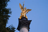 Angel of peace in Munich in Bavaria — Stock Photo