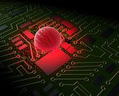 Bilgisayar virüsü 2 — Stok fotoğraf