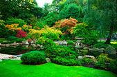 Kyoto Garden in Holland Park, London — Stock Photo