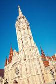 Igreja de matias, budapeste — Foto Stock