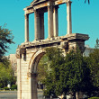 Hadrian`s Arch in Athens — Stock Photo