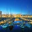 Marina Port Vell in Barcelona - Spain — Stock fotografie