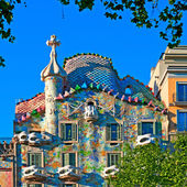 Casa Batllo in Barcelona - Spain — Stock Photo