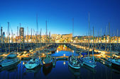 Marina Port Vell in Barcelona - Spain — Stock Photo