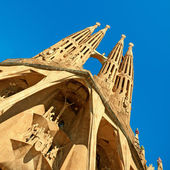 Sangrada Familia, Barcelona - Spain — Stock Photo