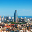 Barcelona`s financial district — Stock Photo #7531129