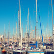 Port Vell in Barcelon- Spain — Stock fotografie #7541542