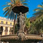 real plaza, barcelona - España — Foto de Stock