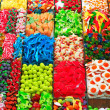 Stock Photo: Sweets at BoqueriMarket in Barcelon- Spain