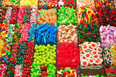 Sweets at Boqueria Market in Barcelona - Spain — Stock Photo
