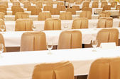 Chairs and Tables — Stock Photo
