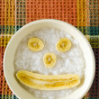 Baby Rice Porridge — Stock Photo