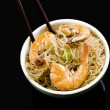 Pancit in Bowl — Foto de Stock
