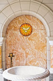 Baptismal Area — Stock Photo