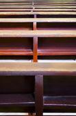 Bancs d'église — Photo