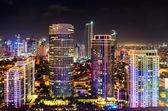 Night Skyline — Stock Photo