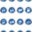 Transport Icon — Stock Vector