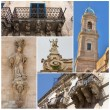Sicily Collage — Stock Photo