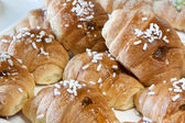 Fresh and tasty Croissant — Stock Photo