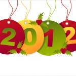 Christmas sale tags — Stock Vector #7604132