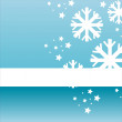 Royalty-Free Stock Immagine Vettoriale: Winter background