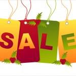 Christmas sale tags — Stock Vector #7909381