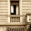 Pizzeria — Stock Photo