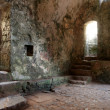 Stock Photo: Inside Stackpole Church