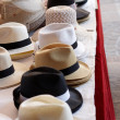 Stock Photo: Ladies and gents hats on table