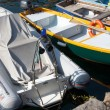 Boats moored in Italy — Stock Photo