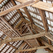 Interior roof beams — Stock Photo #7397006