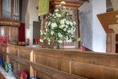 Bir kilise çiçek — Stok fotoğraf