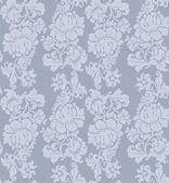 Nahtlose muster, ornament floral, vorhänge — Stockvektor