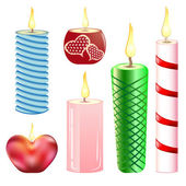 Candles_set — Stock Vector