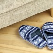 A pair of slippers - Stock Photo