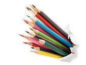 Colorful pencils. — Stockfoto