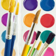 Paintbrushes. — Stock Photo