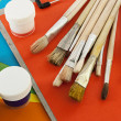 Painting tools. - Stock Photo
