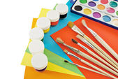 Painting tools. — Stock Photo