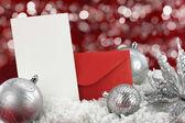 Cartolina di Natale — Foto Stock