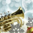 Stock Photo: Christmas music