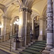 Opera house,lobby,interior, Vienna. Austria. View 1 — Stock Photo