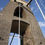 Clifton Suspension Bridge, Bristol — Stock Photo