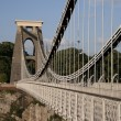 Clifton Suspension Bridge, Bristol — Stock Photo