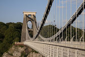 Most Clifton suspension bridge, bristol — Zdjęcie stockowe