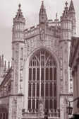 Bath Abbey, England — Stock Photo