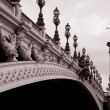 Alexandre III Bridge, Paris — Stock Photo #6924760